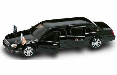 2001 Cadillac Deville President Limo, Lucky 24018 - 1/24 Scale Diecast Model Car