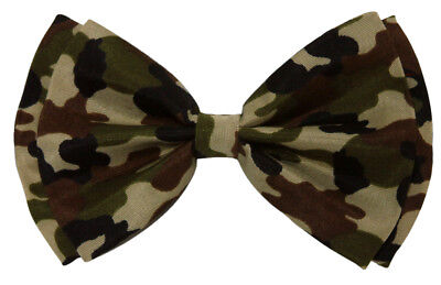 Bow Tie Green Military Camouflage 4.3 inches