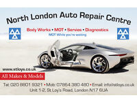 Car Mechanic Car Repairer wanted with at least 3 years experience North London Auto Repair Centre