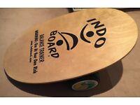 Indo Board Balance Trainer - original - near new condition - surf / skate