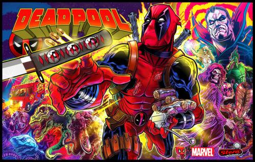 Deadpool Pinball Alternate Translite