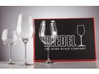 RIEDEL SOMMELIERS 3 PIECE RED AND WHITE TASTING SET – BRAND NEW, UNUSED, IN ORIGINAL PACKAGING