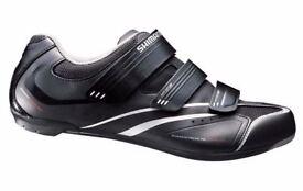 NEW CYCLING SHOES (2113) SHIMANO SH-R078 GIRLS WOMENS ROAD BIKING SHOES Size: UK 4 EUR 38