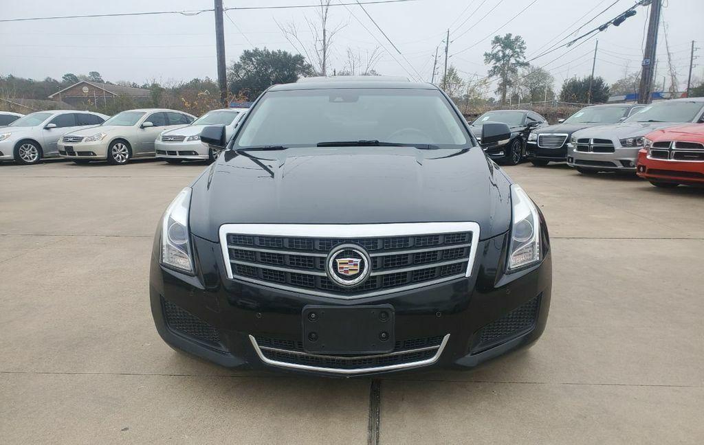 2013 Cadillac ATS Luxury 100948 Miles Black Diamond Tricoat 4dr Car 4 Cylinder E