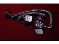Off shoe cords for Canon cameras x2 (Yongnuo make, OC-E3 replacement)