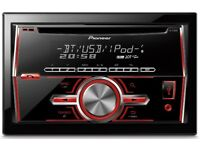 Pioneer FH-X700BT Double Din Car Stereo - Bluetooth /MP3 /CD /Tuner /USB /iPod