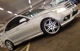 Very nice Mercedes c200 amg sport may px/swap