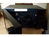 BLACK SAMSUNG MICROWAVE OVEN with grill, 900w