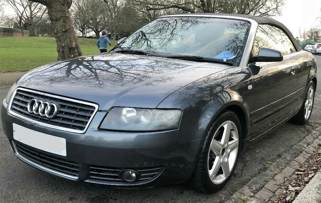 Extra Nice 2003 Audi A4 Cabriolet 1.8 Sport Cabriolet (not ford Focus mondeo, A3, Golf, astra ...