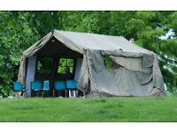 British Army 12x12 Heavy Duty Canvas Tent