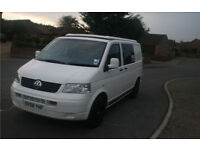 2008 VW T5 2.5 CAMPERVAN 58 PLATE REDUCED PLUS AWNING
