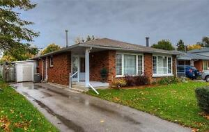 162 Moorgate Cres,Kitchener - All brick semi-detached Bungalow