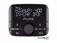 Pure Highway 400 In Car Digital Radio Adapter & Mobile Music Controller