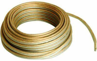 10m Altavoz Cable 16AWG 1.5mm2 Puro Ofc Cobre Casa Hifi Coche Audio...