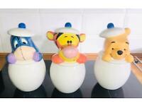Disney / Winnie The a Pooh Collectors, tea, coffee, sugar set