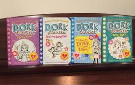 DORK DIARIES 4 BOOKS RACHEL RENÉE RUSSELL