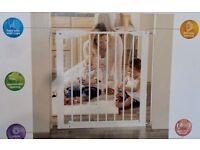 Mothercare easy close Metal Safety Gate + extension