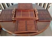 TABLE MATS BAMBOO