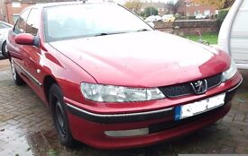 Peugeot 406 LX with MOT and spares