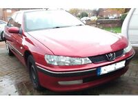 Peugeot 406 with MOT and spares