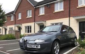 Alfa 147 (red leather) swap