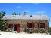 French Equestrian Property for sale: 12 hectares, 3 barns, stables, 60×20 arena, 3/4 bed farmhouse