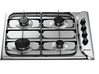 New Hob Gas Hotpoint G640SX Stainless Steel