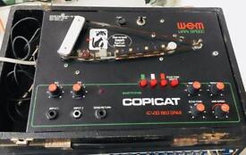 WEM Copicat IC400 Varispeed (Roland, Jorge, bison, tape delay, space echo)