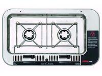 Brand New Domestic Origio 4100 Stainless Steel 2 Burner Built-in Alcohol Stove Waeco