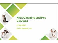 Nic's Cleaning and Pet Services