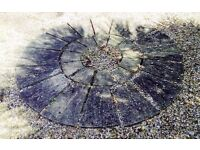 Decorative paving stone circle - approx 1.5m, excellent condition, QUICK SALE, make an offer