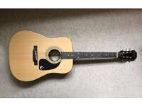 Epiphone DR-100 Acoustic Guitar. NEW - IDEAL CHRISTMAS PRESENT
