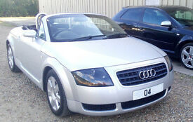 Audi TT Roadster Convertible 1.8T 150 Model, Very well looked after - Mot March 2018