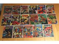 Silver Age Marvel Comic Book Collection