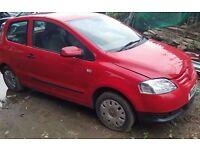 Volkswagen urban fox 55, low mileage manual petrol 3 door, 2010 year