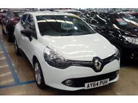 RENAULT CLIO DIESEL HATCHBACK 1.5 dCi 90 ECO Expression+ Energy (white) 2014