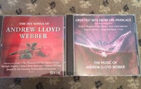 ANDREW LLOYD WEBBER CDS X 2