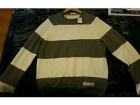 Abercrombie and fitch men's light jumper