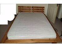 Double bed Frame+Mattress