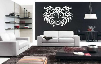 Tiger Predator  Wall Vinyl Sticker Decals Art Decor Animal Cheap Great Gift #221](Cheap Wall Decals)