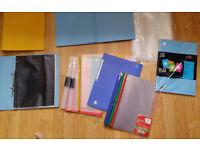 A4/A3 Folders, clipboards, pockets, sleeves