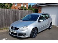 Volkswagon Golf GT 2007 Diesel 2.0, Powder Coated Alloys, Excellant Condition