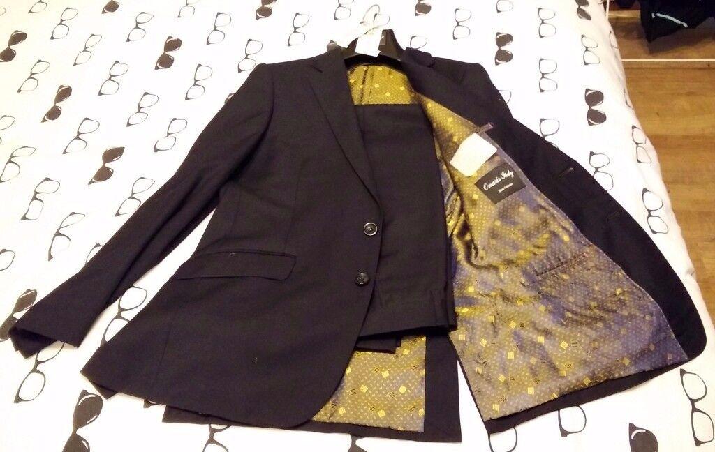 Men's suit 2 piece navy