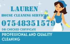 Lauren HOUSE CLEANING SERVICES