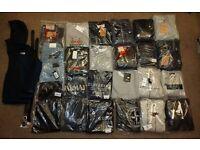 Wholesale/Joblot Mens Tracksuits, Jeans, Belts -Armani, Stone Island, True Religion, Dsquared, Ralph