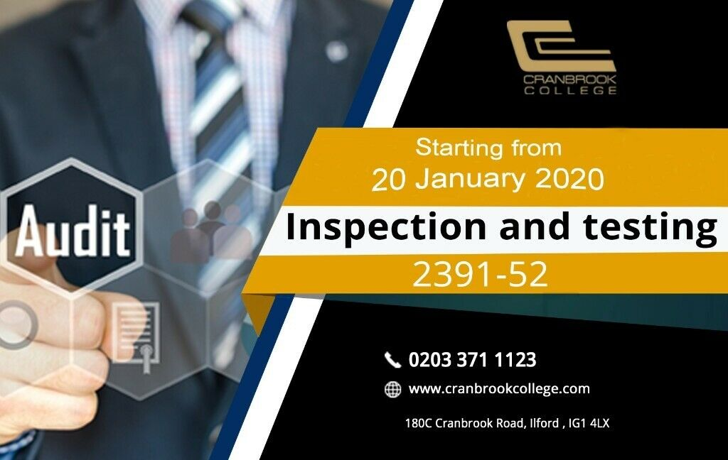 Inspection and Testing 2391-52 wiring regulations Electrical ... on