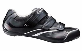 (2113) SHIMANO SH-R078 GIRLS WOMENS ROAD BIKING SHOES Size: UK 4 EUR 38