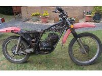 Wanted Motorcycle for restoration project
