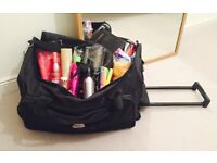 Brand New! Professional Hair Kit: Tools, products, pouch and travel bag