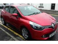 RENAULT CLIO 1.2 16V Expression+ 5dr (red) 2013